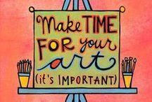 My kinda Art / Art needs time