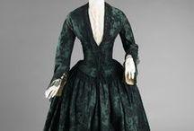 gowns et al., 1800s-1850s