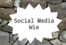 Social Media - Wie / Hoe kun je vertellen wie je bent dmv Social Media? / by Bureau Vossen | sociale media