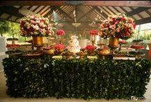 Mesa de doces / Inspirações de mesas de doces