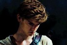 The Maze Runner / Tessa's Board. Mostly on Newt, my favourite character and a little bit on Minho