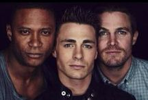 Arrow/The Flash / This board is shared: Tessa: Roy, Felicity and ThRoy Cecily: Felicity, Oliver, and Olicity