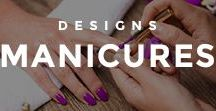 Manicures / A collection of amazing manicures, and how to do one yourself from the comfort of your own home.