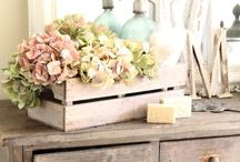 ᔕᕼᗩᗷᗷY ᑕᕼIᑕ ᗩᑎᗪ ᐯIᑎTᗩGE ᗪEᑕOᖇᔕ / Shabby, Home decors, Country Chic, Rustic Cottage, Pretty Things, Secret Garden, Pastel Colors, Romantic Flowers, Lace, Enamel, Wood, Frames, BirdCages, Table, Party Decors, Outdoor Living...... / by ღ✻my little place✻ღ
