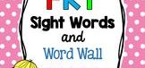 Sight Words / Materials on sight words for lower elementary