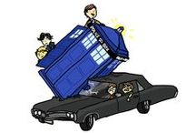 SuperWhoLock / The King of the Crossovers!
