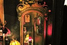 Darkly Romantic Roomscapes / A blend of baroque, bohemian & a bit of scandal...