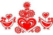 Slovak Embroidery / Slovak folk patterns and designs, traditional costumes