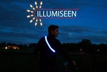 Night Cycling / Illumiseen is perfect for those who cycle at night. Keep yourself safe with Illumiseen today! Take advantage of a 40% discount today: http://amzn.to/1uBE0hL