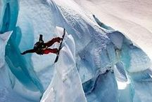 Adrenaline Junkie / Some people are very brave and strong enough to do extreme sports.