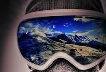 Through the goggles / Incredible reflection in your goggles