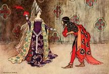 Conjuring Camelot / Finery befitting a fairy tale fortress from medieval times to modern day...