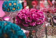 Forminhas de Doces / Forminhas de mesa de doces para inspirações e indicações para as noivas.