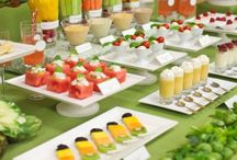 """Canapes and Appetizers...let's get the party going! / """"My kinda FOODIES"""" Eat, drink, and be merry... We should enjoy the life we're living and not obsess over small things like calories!"""