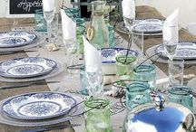 Table setting, crockery and cutlery / Around the table...best place to tell stories and have conversations