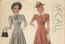 vintage | sewing patterns