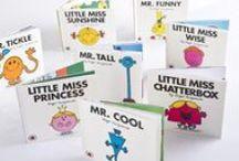 vintage | little miss & mr men books