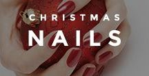 Christmas Nails / Christmas time is here again, and you know what that means: cute and creative Christmas nails! We hope you enjoy these designs. Merry Christmas & Happy Holidays!