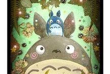 Totoro Fan Art / Cute Totoro fan art that makes me happy. ^_^