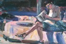 Samuel Burton. / Northern Wakefield Artist Sam Burton.