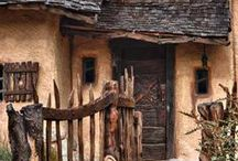 A Witch's Cottage / Rustic yet regal décor for the wild one in all of us...