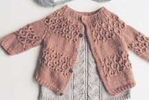 Baby&kids knitting cardigan