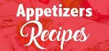 Appetizers Recipes / Food Blog - Healthy appetizers | christmas appetizers | make ahead appetizers | simple appetizers | elegant appetizers