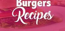 Burgers Recipes / All things related to Burger Recipes Including | Design Burger | Burger On Grill | Burger on the stove | Burger Seasoning | Best Burger, ...