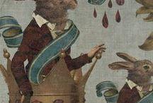 Easter Elegance / A spring fling filled with regal rabbits and elegant eggs...