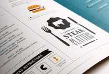 Restaurant & Cafe menu design isnpiration