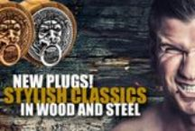 New Classic Wooden Plugs / NEW PLUGS!  Stylish classics in wood and steel.