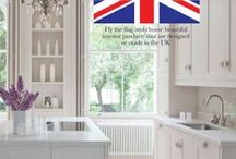 Utopia Loves... Best of British / Fly the flag and choose beautiful interior products that are designed or made in the UK.  As featured in Utopia Kitchen & Bathroom magazine June 2014  #design #utopialoves #utopiamag