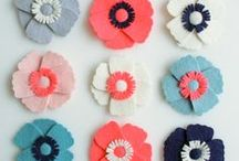 Flowers / Ideas para hacer flores