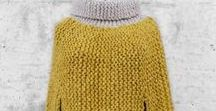 Knitting: clothing / Knit clothing patterns
