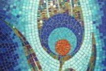 Mixed media and Mosaic