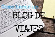 | Ser Nomada Digital / Aprende COMO HACER UN BLOG DE VIAJES y como es posible ganar dinero con un blog.  Cada vez somos mas los viajeros que aprendimos como hacer un blog de viajes, y actualmente financiamos parte de nuestra aventura (o esta al completa), gracias a ello.