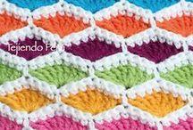 Crochet: stitches / Crochet stitches