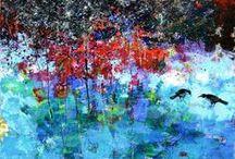 Art - my Work / Color is the language I speak best...