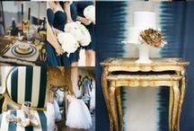 Color Inspiration / Wedding color scheme and color palette ideas.