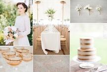Wedding Inspiration Boards / Wedding theme ideas.