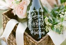 For Winery Weddings / Think of it as... When the grape meets the nuptials.