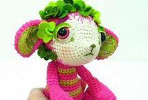 crochet creatures...
