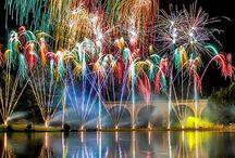 Fireworks around the world
