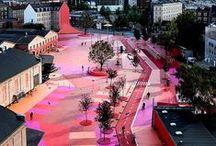 Topotek1 and Superflex_BIG / Urban Revitalization Superkilen by Topotek1, BIG & Superflex_ Copenhagen_Denmark