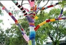 Guerrilla Gardening, Urban Gardening, Urban knitting