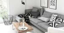 i n t e r i o r | living room / inspiracje dekoracji pokoju