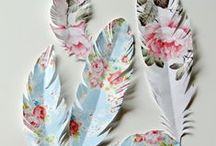 Craftiness, of papercrafts & canvas