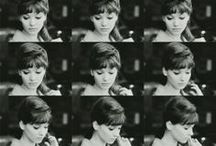 Anna Karina / Anna Karina (born Hanne Karin Blarke Bayer; 22 September 1940) is a Danish-French citizen, film actress, director, and screenwriter who has spent most of her working life in France. - photos - style - moods - beauty - Follow me if you like it! :)