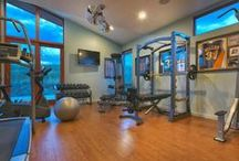 Home Gym / The in home gym we all dream about.