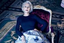 Helen Wonderful Mirren / Ageless beauty and style. I love her! - Follow me if you like it! :)